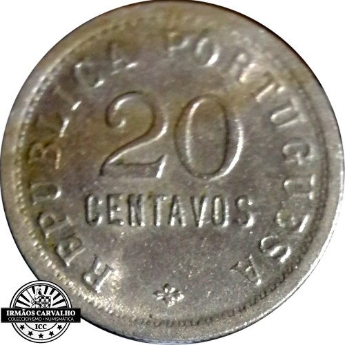 Angola 20 Centavos 1922