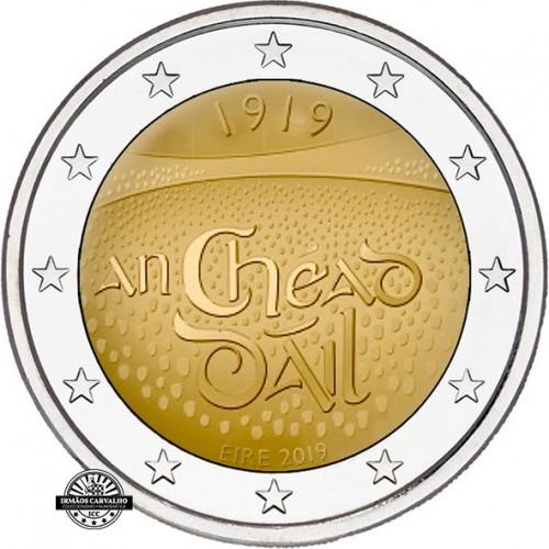 Irlanda - 2€ 2019 100 Anos do Dáil Eireann