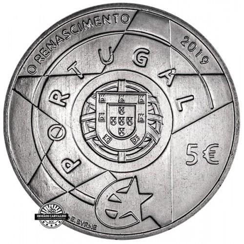 Portugal - 2019 5 Euro The Renaissance