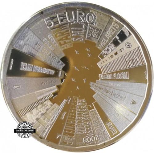 Holanda 5€ 2008 Arquitectura Holandesa