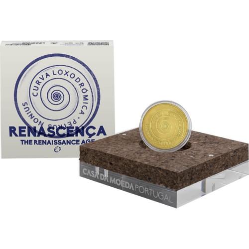 5 euros  2019 MOEDA RENASCENÇA Ouro