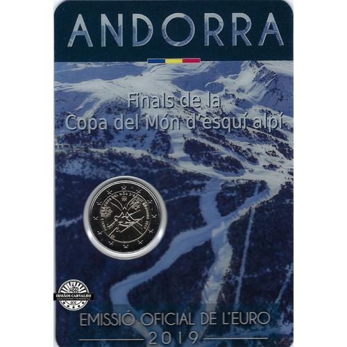 Andorra 2€ 2019 (Skiing World Cup)