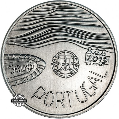 Portugal - 2019 5 Euro The sea drawn