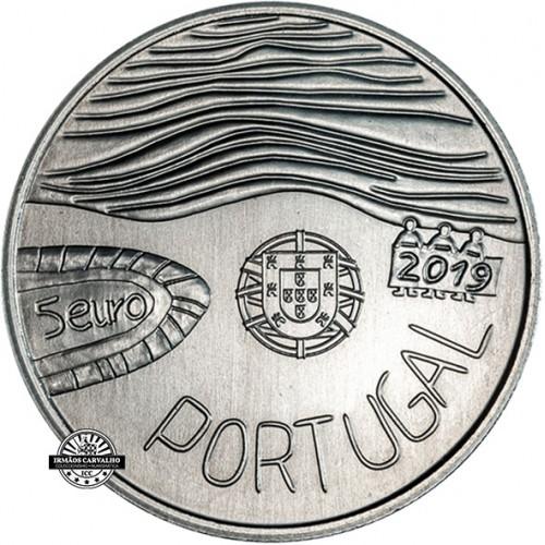 Portugal  - 5€  2019 Desenhar o Mar