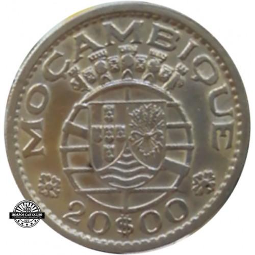 Mozambique  20$00 1952