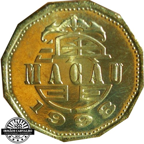 Macao 20 Avos 1998