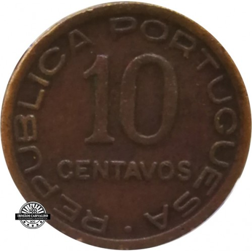 Moçambique 10 Centavos 1942