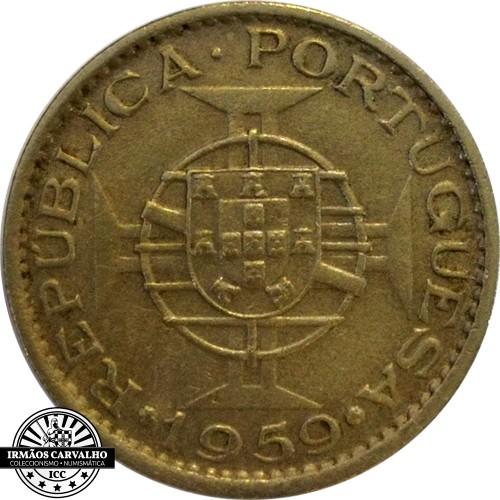 India  60 Centavos 1959