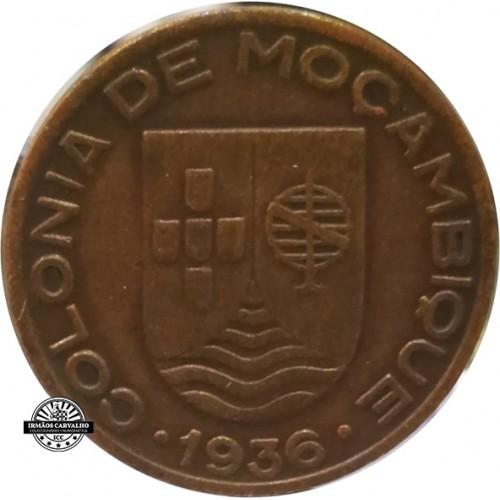 Mozambique 20 Centavos 1936