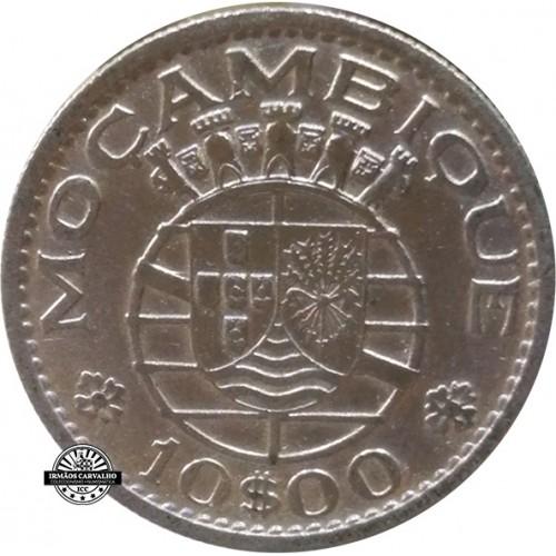 Mozambique  10$00 1954
