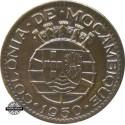 Mozambique 1 Escudo 1950
