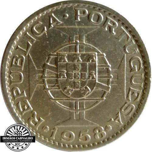 Timor 1 Escudo 1958
