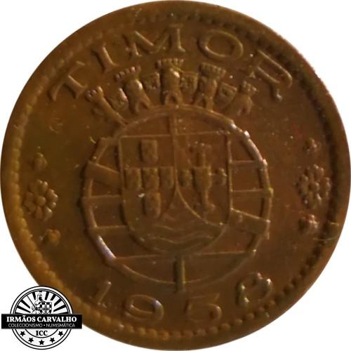 Timor 10 Centavos 1958