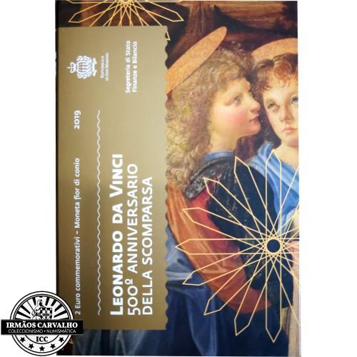 San Marino - 2€ 2019 Leonardo Da Vinci