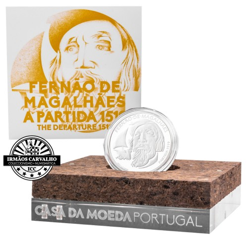 Portugal 7.5€ 2019  Ferdinand Magellan (Proof)