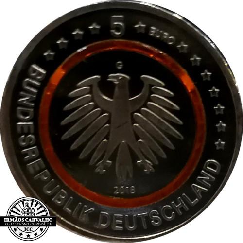 Alemanha 5 euros 2018