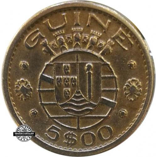 Guine 5 Escudos 1973