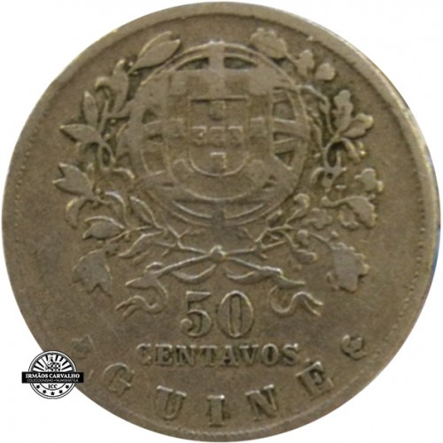 Guine 50 Centavos 1946
