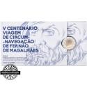 Portugal  2,00€ 2019 Proof MAGALLAN CIRCUM NAVIGATION