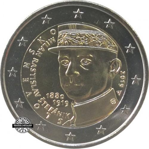 Eslováquia - 2€ 2019 (Milan Stefánik)