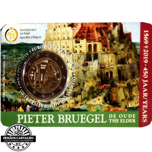 Bélgica 2€ 2018 (Satélite Iris)