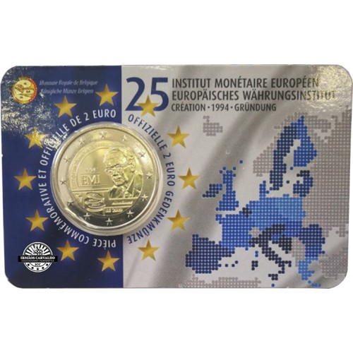 Belgium 2 euro 2019 (European Monetary Institute)