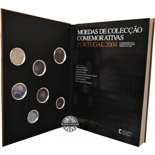 Portugal - 2004 Commemorative coins collection