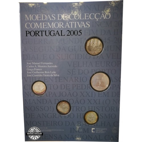 Portugal - 2005 Commemorative coins collection