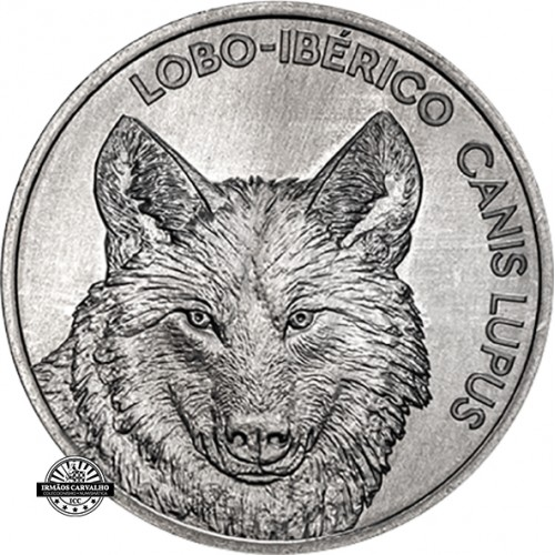 Portugal - 2019 5 Euro Iberian Wolf