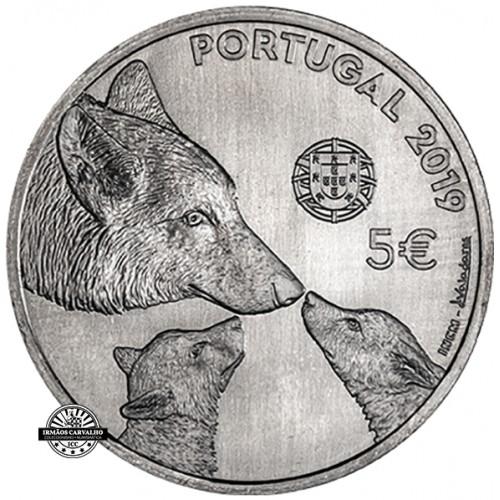 Portugal 5€  2019 Lobo Ibérico