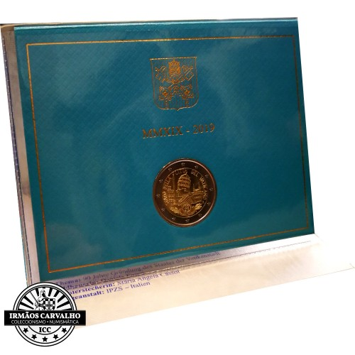 Vatican 2€ 2019 90 Years of the State of Vatican Foundation