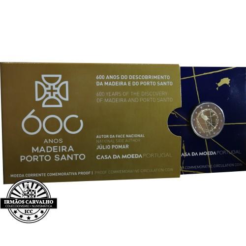 Portugal  2,00€ 2019 Proof Madeira and Porto Santo