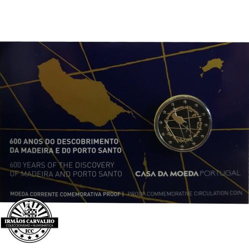 Portugal  2,00€ 2019 Proof  600 Anos Madeira e Porto Santo