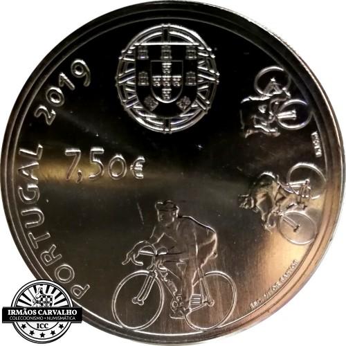 Portugal 7.5€ 2019  JOAQUIM AGOSTINHO