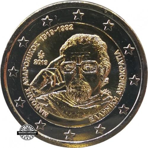 Grécia 2 € 2019  Manolis Andronikos