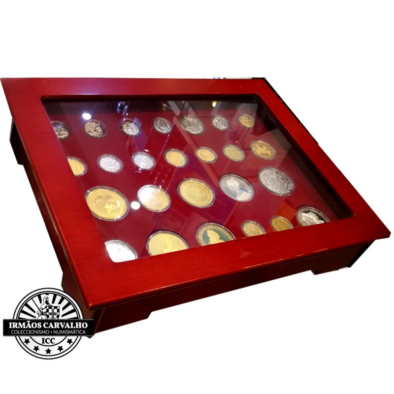 """24 Silver Medals Set """"The History of Portuguese Coins"""""""