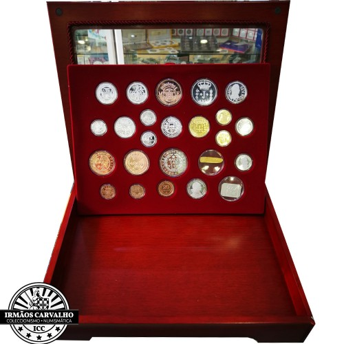 "25 Silver Medals Set ""The History of Coins"""