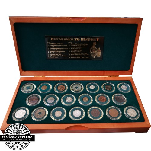 """Witnesses to History  """"20 Autenthic Coins"""""""