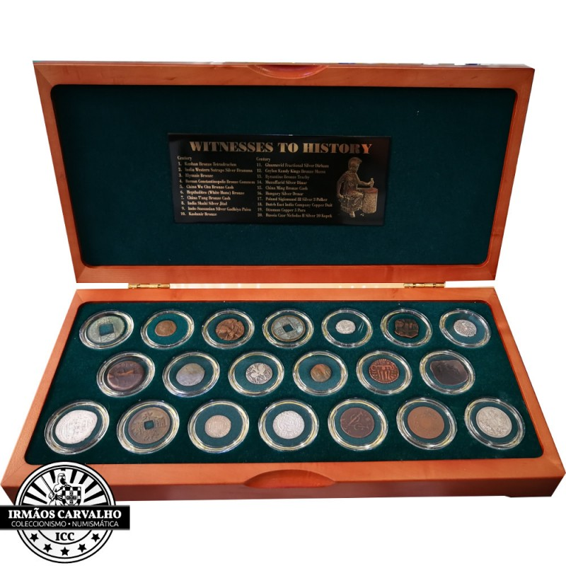 """25 Silver Medals Set """"Portuguese Colonies Coins"""""""