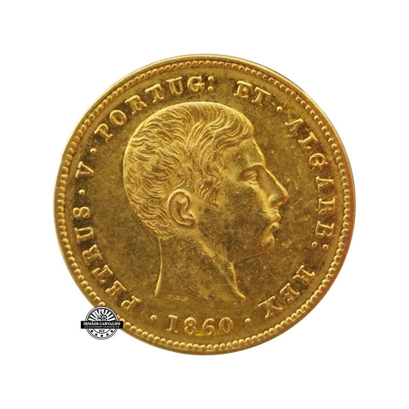 Petrus V - 2000 Reis 1857 (Gold)