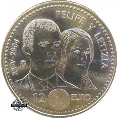 Spain 12€ 2004