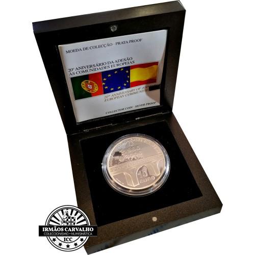 Portugal 10€ E.U. Memberhip 2006 Proof