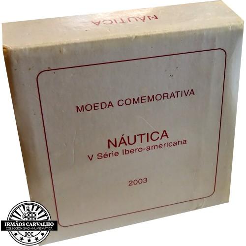 Portugal 10€ Nautica 2003 proof