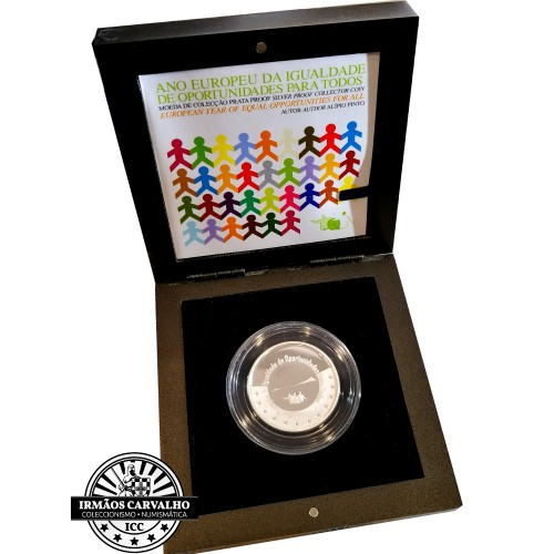 Portugal 5.00€   European Year of Equality 2007 Proof