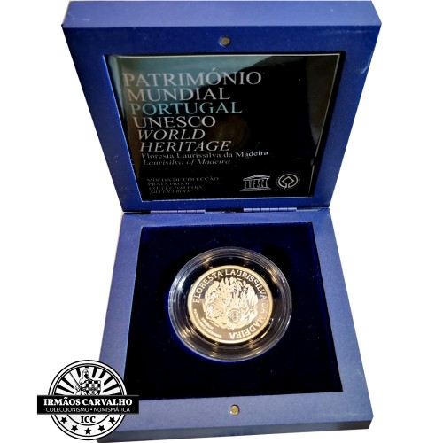 Portugal 5.00€  Laurisilva Forest 2007 Proof