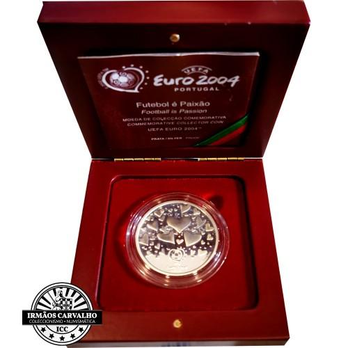 Portugal 8€ Proof 2003 Futebol é Paixao