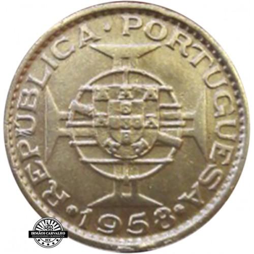 Timor 60 Centavos 1958