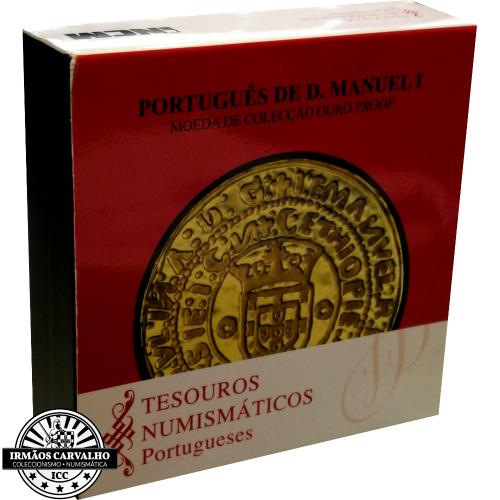 Portugal 7.50€ 2011 O PORTUGUÊS DE D. MANUEL I (OURO PROOF)