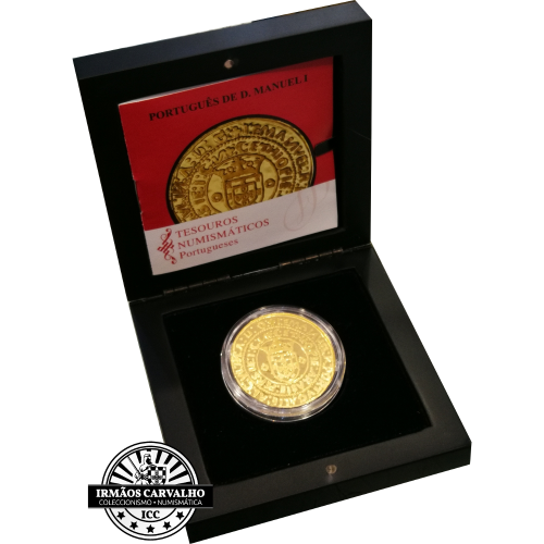 Portugal 7.50€ 2011 THE PORTUGUES FROM  MANUEL I (GOLD PROOF)