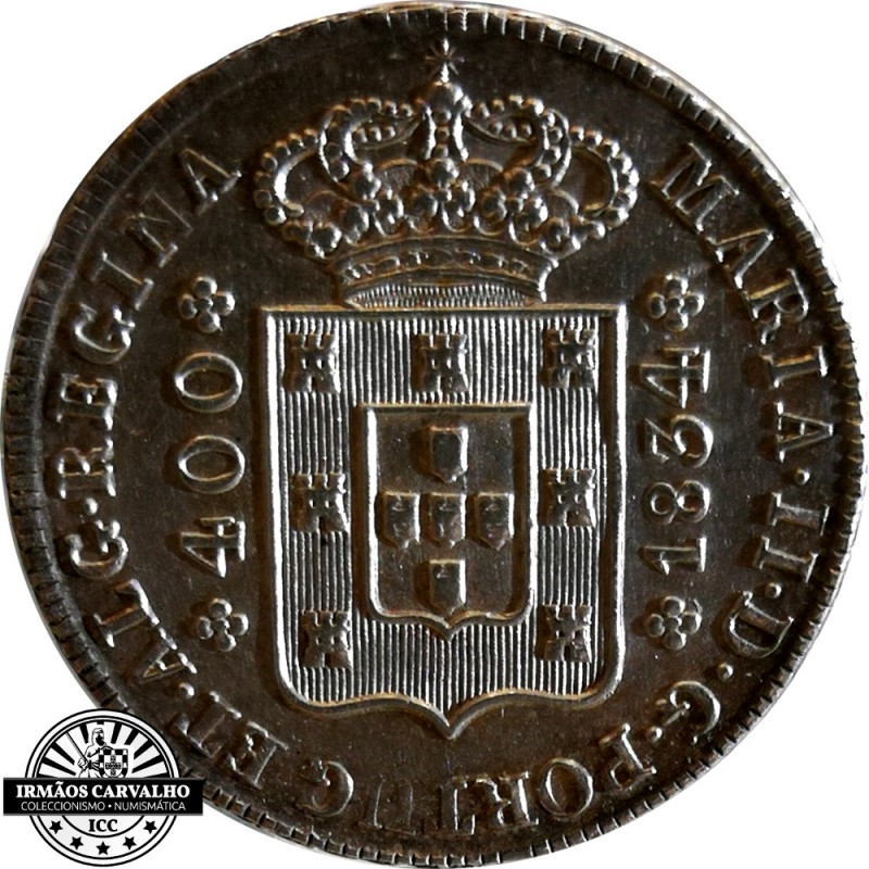 D. Maria II 480 Réis 1834
